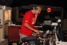 DJ Yusuf spinning at Club Afrique